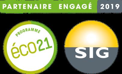 Energinno est partenaire Eco21 des SIG depuis 2015.
